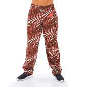 Cleveland Browns Fire RedBrown Zebra Pant Left Hip Logo