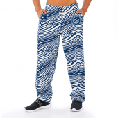 Indianapolis Colts RoyalWhite Zebra Pant Left Hip Logo
