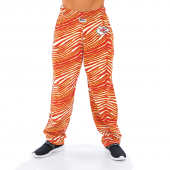 Kansas City Chiefs RedGold Zebra Pant Left Hip Logo