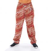 San Francisco 49ers RedBronze Zebra Pant Left Hip Logo