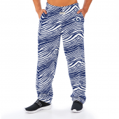Los Angeles Rams NavyWhite Zebra Pant Left Hip Logo