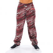 Tampa Bay Buccaneers BlackRed Zebra Pant Left Hip Logo