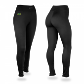 North Dakota State University Bison Black Leggings