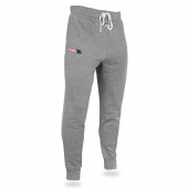 Mens New England Patriots Heather Gray Jogger