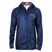 New England Patriots Full Zipper Hoodie