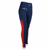 Womens New England Patriots Solid Legging With Side Mesh