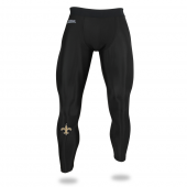 Mens New Orleans Saints Black Legging