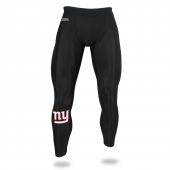 Mens New York Giants Black Legging