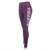 Womens New York Giants Faux Mesh Print Legging