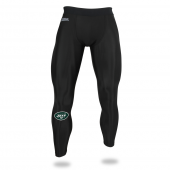 Mens New York Jets Black Legging