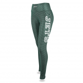 Womens New York Jets Faux Mesh Print Legging