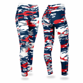 New England Patriots Camo Leggings