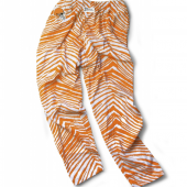 Cleveland Browns Orange Zebra Pant
