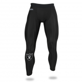 Mens Oakland Raiders Black Legging