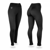 Oakland Raiders Black Leggings