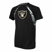 Oakland Raiders Zebra Poly TShirt