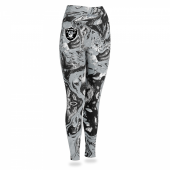 Oakland Raiders Swirl Legging
