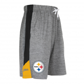 Pittsburgh Steelers Gray Space Dye Short With Stripe