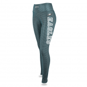 Womens Philadelphia Eagles Faux Mesh Print Legging