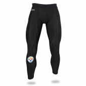 Mens Pittsburgh Steelers Black Legging