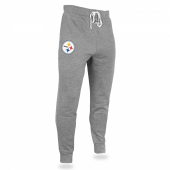 Mens Pittsburgh Steelers Heather Gray Jogger