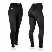 Pittsburgh Steelers Black Leggings