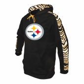 reputable site 5fdc9 d1542 Pittsburgh Steelers Camo Hoodie   Black/Gold   Zubaz Store