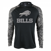 Buffalo Bills Black Post Light Weight Hoodie