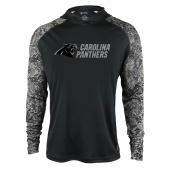 Carolina Panthers Black Post Light Weight Hoodie