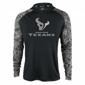 Houston Texans Black Post Light Weight Hoodie