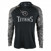 Tennessee Titans Black Post Light Weight Hoodie
