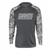 New York Giants Gray Post Light Weight Hoodie