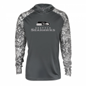 Seattle Seahawks Gray Post Light Weight Hoodie