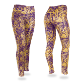 PurpleGold Post Legging