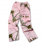 RealTree Pink Flannel Pant