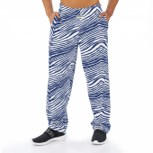 Royal Blue Zebra Pant