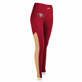 Womens San Francisco 49ers Solid Legging With Side Mesh