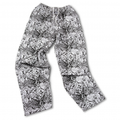 BlackGray Snakeskin Pant