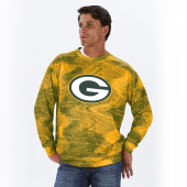 Green Bay Packers GreenGold Static Crew Neck Sweatshirt