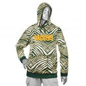 Green Bay Packers GreenGold Zebra Hoodies