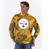 Pittsburgh Steelers BlackGold Static Crew Neck Sweatshirt