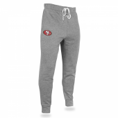Mens San Francisco 49ers Heather Gray Jogger