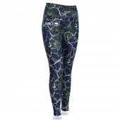 Seattle Seahawks Marble Legging