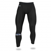 Mens Seattle Seahawks Black Legging