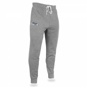 Mens Seattle Seahawks Heather Gray Jogger