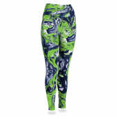 Seattle Seahawks Swirl Legging