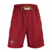 San Francisco 49ers Athletic Team Shorts