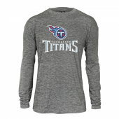 Tennessee Titans Gray Space Dye Long Sleeve Tshirt