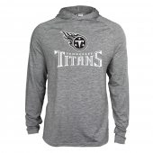 Mens Tennessee Titans Gray Space Dye Light Weight Hoodie