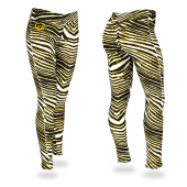 University of Iowa BlackGold Zebra Legging
